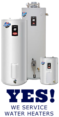 Our Stockton CA plumbing team services water heaters